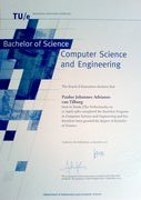 The Bachelor of Science certificate